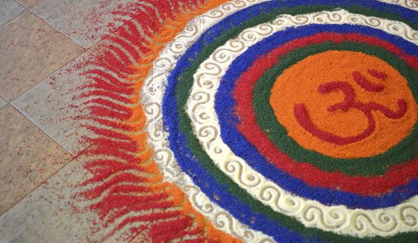 ... Download Kolam Floor Decoration Tamil Nadu Wallpaper #3 | 600 x